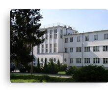 University of Physical Education in Warsaw, Poland Canvas Print