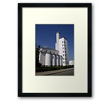 University of Physical Education in Warsaw #2, Poland Framed Print