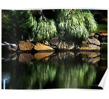 The Pond on Lamplight Lane Poster