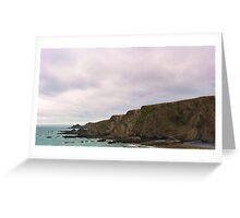 Hartland Quay, Devon Greeting Card