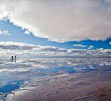 Big Sky, Lake Hart, S.A by Alan Meyer
