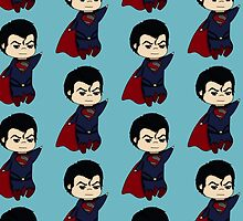 Superman- Man of Steel chibi by rainbowcho