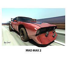 MAD MAX BAT CAR Photographic Print