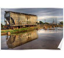 Rail Reflection Poster