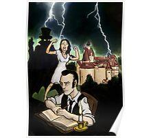 Dracula Book Concept Poster