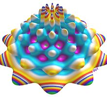 Dandy Fractal Candy - a mouth watering mint by Gary Timothy
