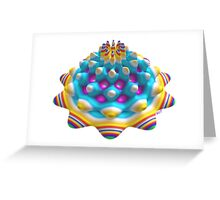 Dandy Fractal Candy - a mouth watering mint Greeting Card