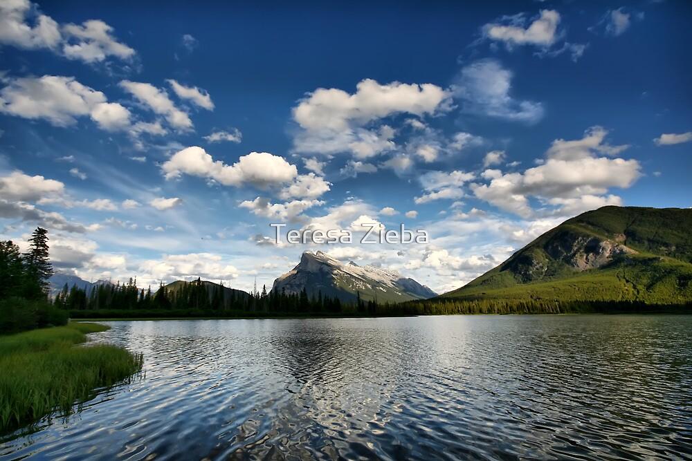 Vermillion Lakes, Banff National Park by Teresa Zieba