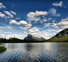 Vermillion Lakes, Banff National Park by Teresa Zieba