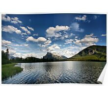Vermillion Lakes, Banff National Park Poster
