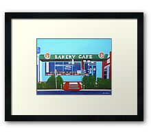 Bakery Cafe Framed Print