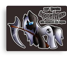 MLP: Horsemen of the Apocalypse: Death Canvas Print