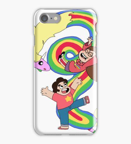 Falling Adventures Through the Universe iPhone Case/Skin