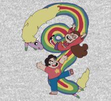 Falling Adventures Through the Universe Kids Tee