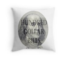 All about the Benjamins Throw Pillow