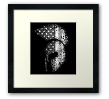 American Spartan 2.0 - Subdued Framed Print