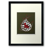 Alexander the Cardinal Framed Print