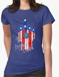 The American Dream! Womens Fitted T-Shirt