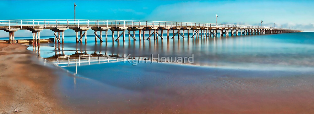 The Long Pier by Kym Howard