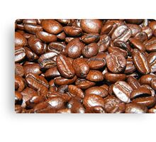 Selective coffee beans  Canvas Print