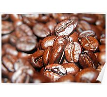 Crowded House of Coffee Beans  Poster
