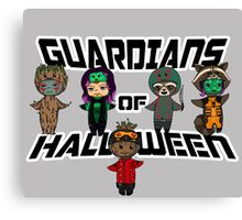 Guardians of halloween Canvas Print