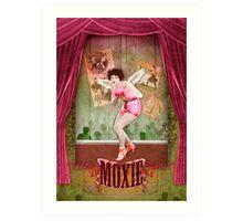 Moxie Art Print