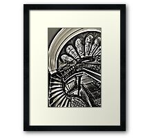 Stained with History - Queen Victoria Building, Sydney Framed Print
