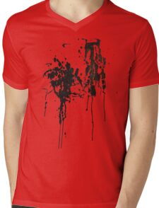 Paw Prints Mens V-Neck T-Shirt