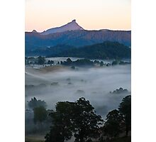 Pink morning in the valley Photographic Print