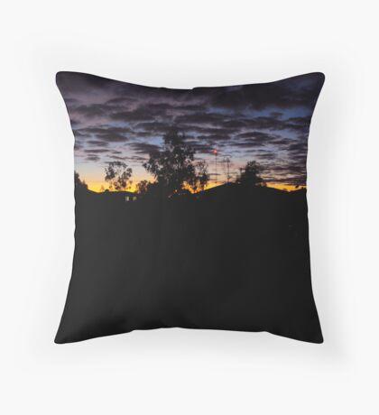 Bedourie Sunrise Throw Pillow