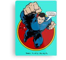 SuperHero Thrust Metal Print