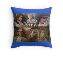 Lost World Montage Throw Pillow