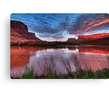 Southern Utah Sunset Canvas Print