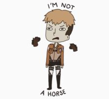 Jean Is Not A Horse by Ikaripoid