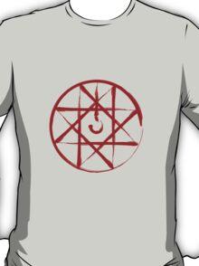 fullmetal alchemist edward alphonse elric blood transmutation anime manga shirt T-Shirt