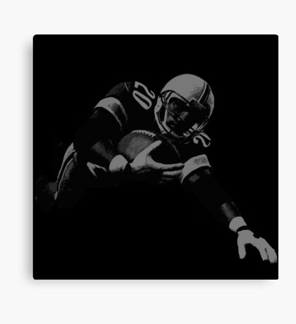 Flying Football Player Collection Canvas Print