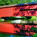 Gilpin's Covered Bridge by Monte Morton