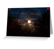 Reflecting...CrossFire Greeting Card