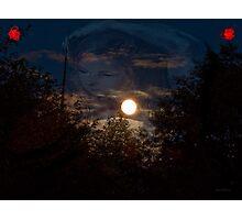 Reflecting...CrossFire Photographic Print