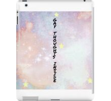 Gay thoughts inside iPad Case/Skin