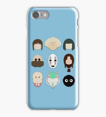 Spirited Away (Minimalistic)  iPhone Case/Skin