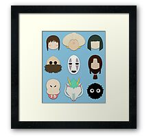 Spirited Away (Minimalistic)  Framed Print