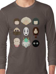 Spirited Away (Minimalistic)  Long Sleeve T-Shirt