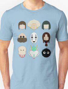 Spirited Away (Minimalistic)  Unisex T-Shirt