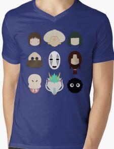Spirited Away (Minimalistic)  Mens V-Neck T-Shirt