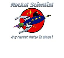 ROCKET SCIENTIST Photographic Print
