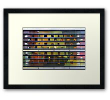 Up There 6486 Framed Print
