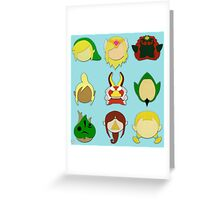 The Wind Waker (Minimalistic)  Greeting Card