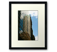 Up There 5220 Framed Print